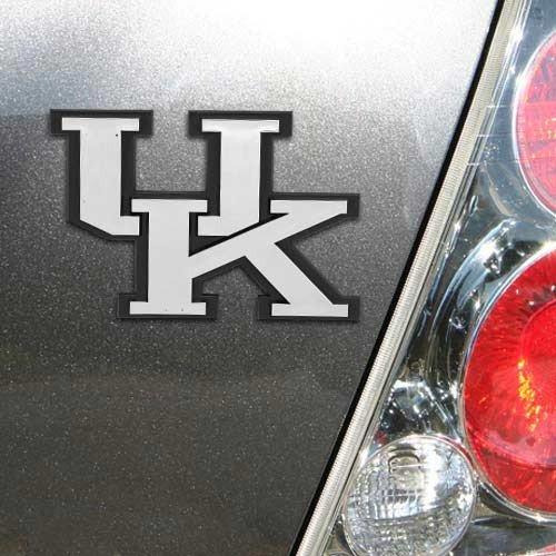 - NCAA Kentucky Wildcats Chrome Automobile Emblem