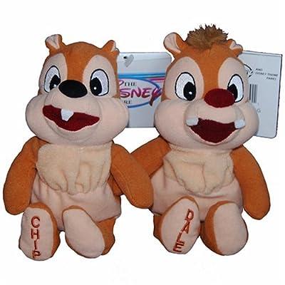 Chip and Dale Chipmunks - Disney Mini Bean Bag Plush: Toys & Games