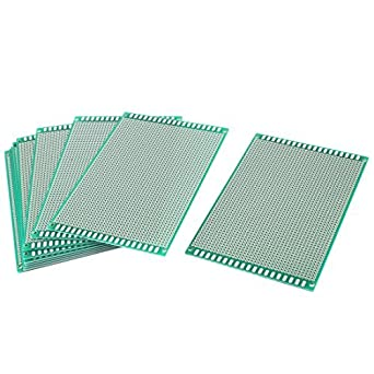 Placa de circuito PCB Universal 10 piezas de un lado Prototipo 10cm x 15cm: Amazon.com: Industrial & Scientific
