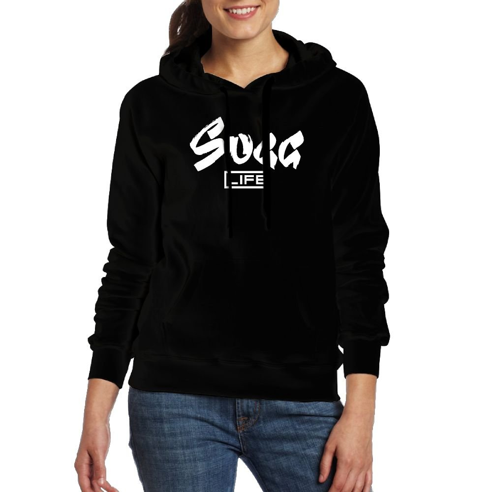 GN SUGGLIFE Logo Youth Women's Casual Top Pullover Fashion Hoodie Sweatshirt