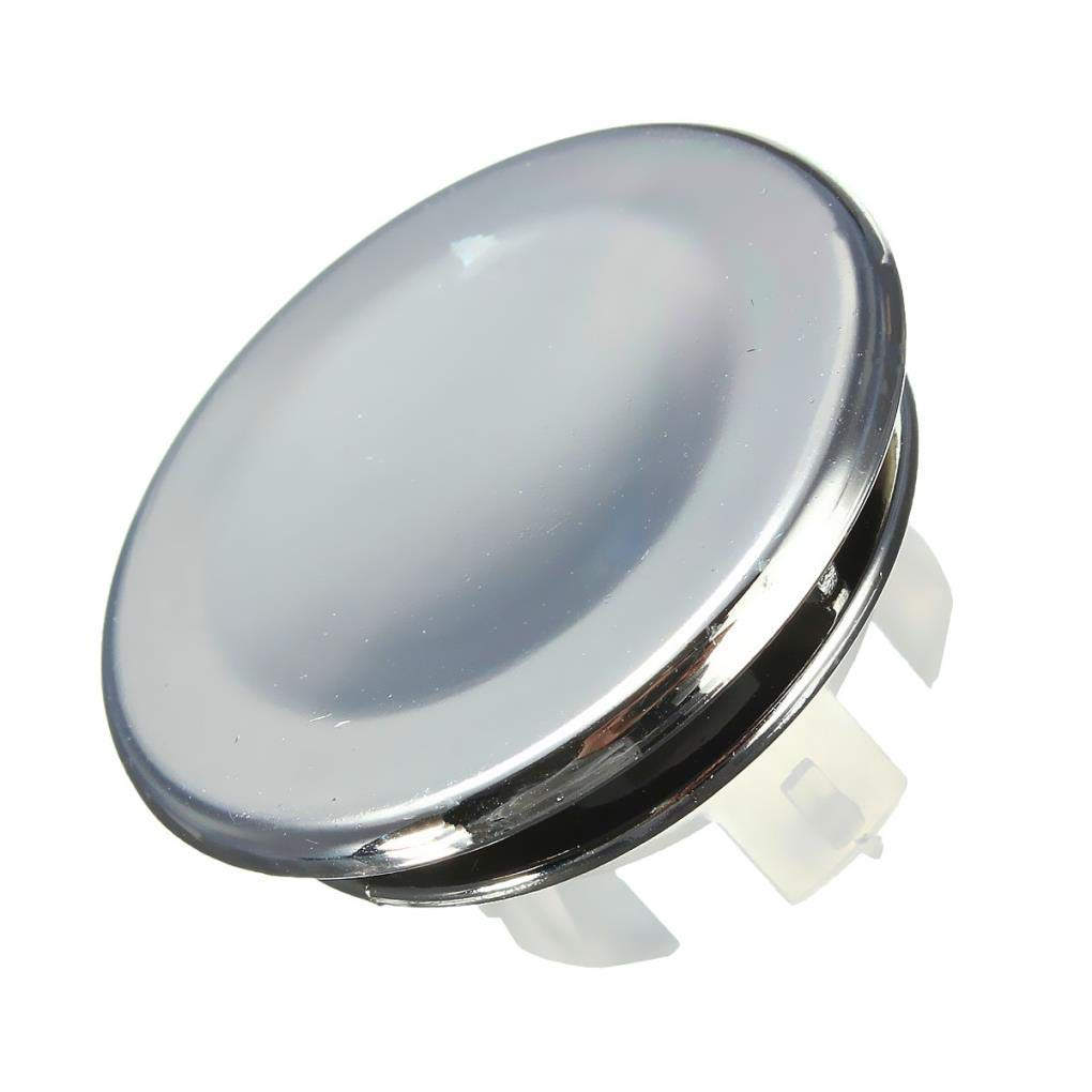 Yongse Bathroom Sink Basin Chrome Trim Overflow Hole Round Cover Silver