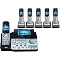 Vtech DS6151 Base with 5 Additional DS6101 Cordless Handsets Bundle
