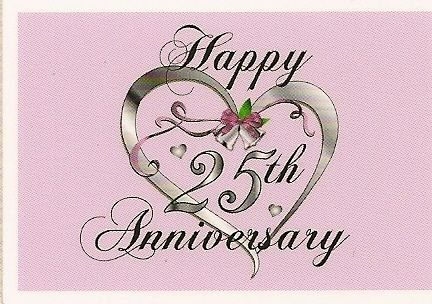 25th Anniversary ~ Edible Cake Topper by DecoPac