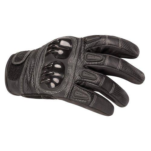 BILT Sprint Leather Motorcycle Gloves - LG, - Leather Gloves Supermoto