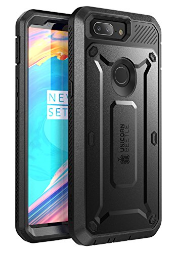 SupCase Unicorn Beetle Pro Series Case Designed for OnePlus 5T,with Built-in Screen Protector and Rotating Belt Clip Holster for OnePlus 5T (2017) - Retail Package