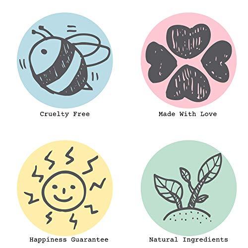 Bella and Bear Goddess Sugar Scrub, No Sulphates, Parabens, New Fragrance, Cruelty-Free, Vegan-Friendly Exfoliating, 6…