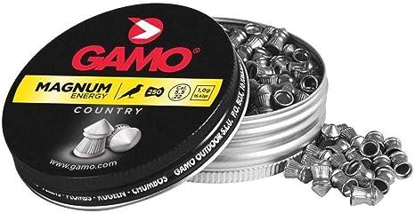 Gamo Magnum - 250 Balines en Caja de Metal, 5.5 mm: Amazon.es: Deportes y aire libre