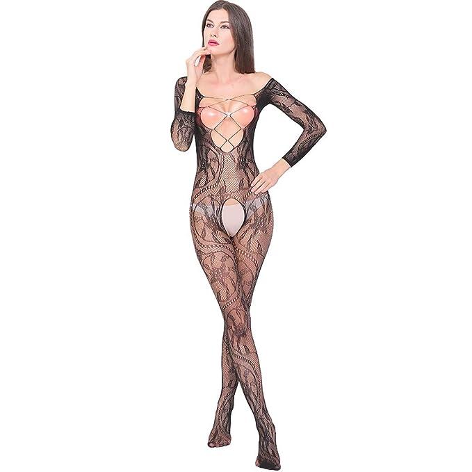 CLOOM Ropa Interior Mujer Sexy Transparente Una Pieza ...