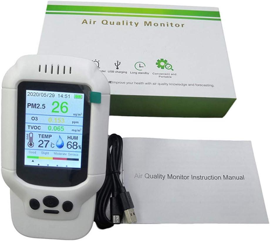 Luftqualit/ätspr/üfer tragbares Ozon-Messger/ät Ozon-Konzentrationstester schnelle Erkennung 5 ppm Reichweite O3 Tester AOIXBCUROC Gasdetektor