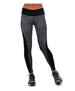 YR.Lover Femme Tights Active Long Yoga Running Pantalons Workout Leggings