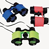 Nikki's Knick Knacks 12 Kids Plastic Toy Binoculars- Pretend Play Party Favors