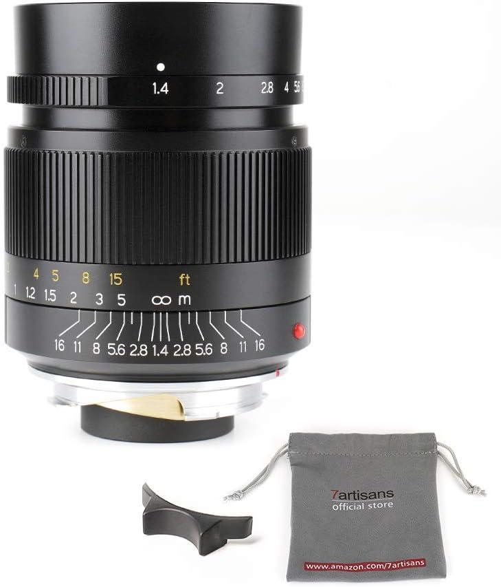 7artisans 28mm F1 4 Leica M Mount Festobjektiv Für Kamera