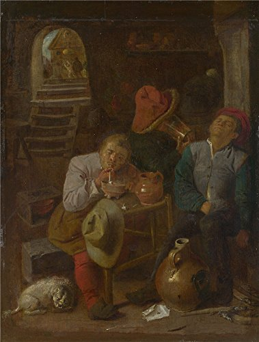 Oil Painting 'Style Of Adriaen Brouwer F - Bullet Style Patio Heater Shopping Results