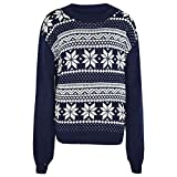Product review for A2Z 4 Kids® Girls Boys Christmas Jumpers Kids Novelty Snowflake Print Xmas Sweater 5-12 Year