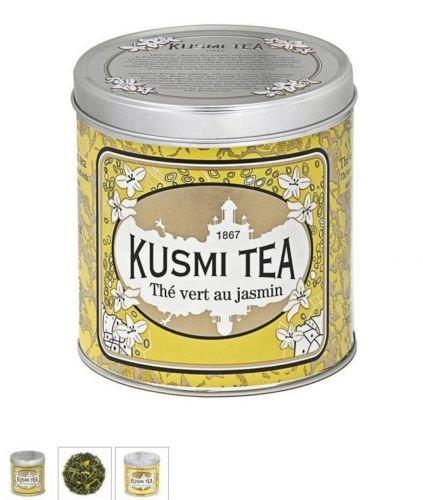 Kusmi Tea Paris – Premium Luxury Teas – Jasmine Green Tea – 8.8oz / 250gr Tin For Sale