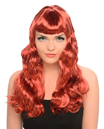 Red C (Red Halloween Wigs)