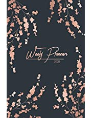 Weekly Planner 2020: Daily Agenda, Weekly Planner And Monthly Planner, Calendar 2020 - Planners And Organizers For Women to write in
