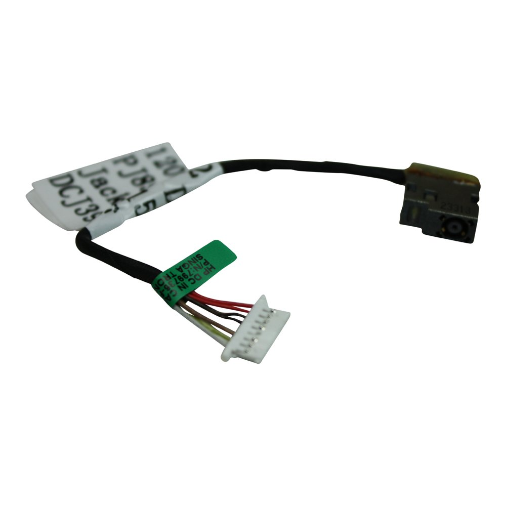 HP Home 15-ac104nk Short Cable Version (Please Check The Picture) Compatible Laptop DC Jack Socket With Cable Power4Laptops