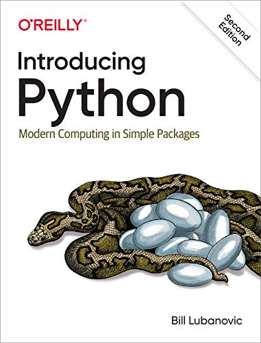 Book cover of Introducing Python: Modern Computing in Simple Packages by Bill Lubanovic