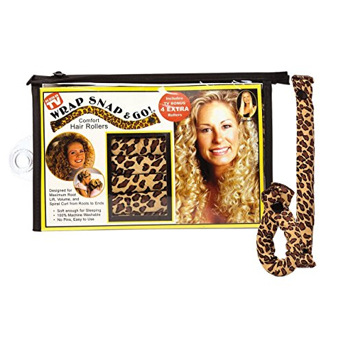 Wrap Snap N Go Hair Rollers