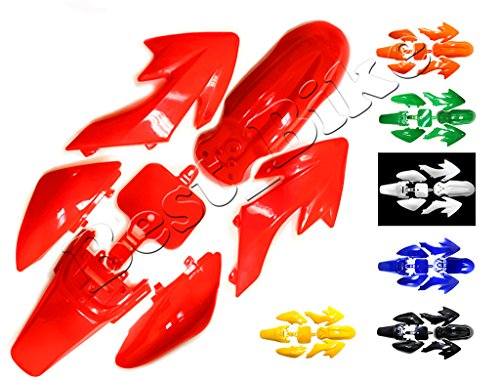 Plastic Fairing Fender Kit for Honda XR50 CRF50 CRF 50 XR 50 SSR SDG 107cc 125cc Chinese Dirt Pit Bike (Body Fairing Plastic)