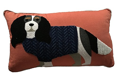 11 by 18 Max Studio King Charles Spaniel Dog in Sweater