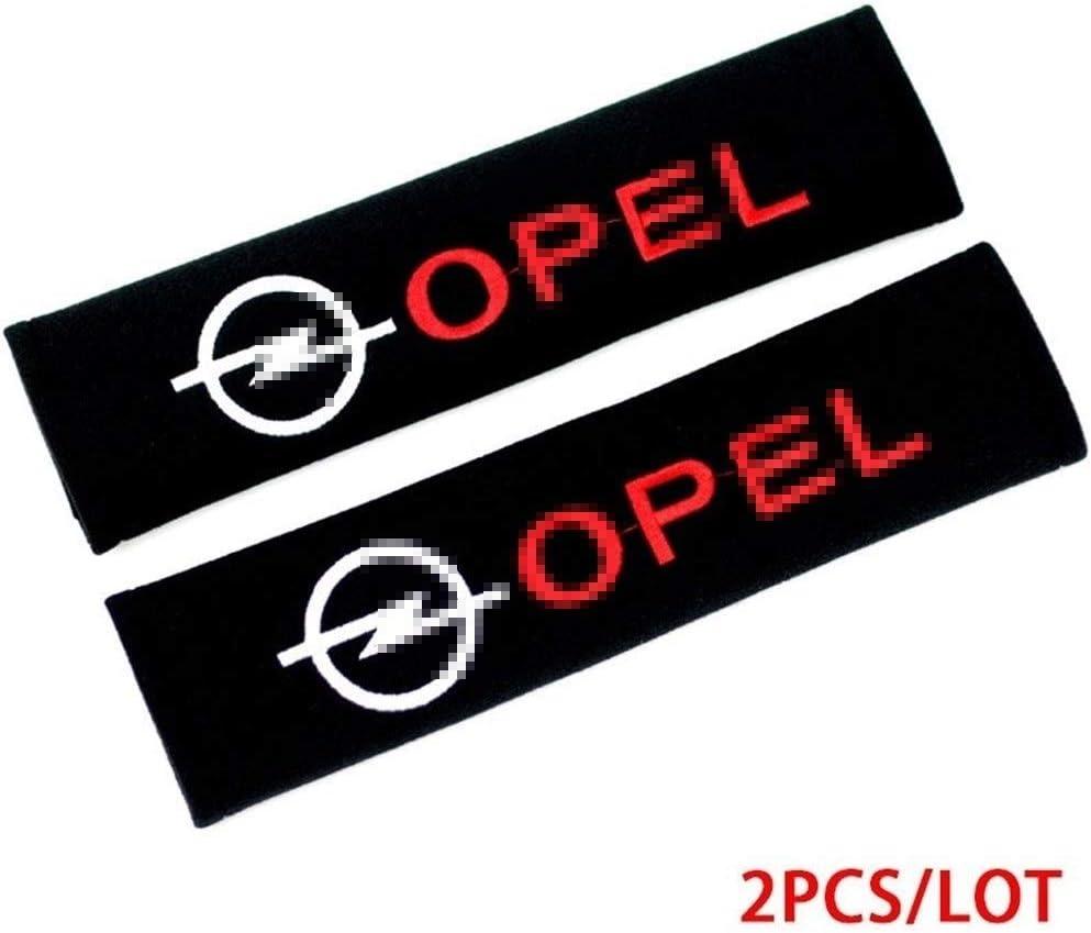 OutdoorKing Auto B/ügel Gurtschutz F/ür Opel Astra Insignia Mokka Zafira Corsa Vectra Antara Styling Aufkleber 2pcs Auto-Zubeh/ör Abdeckungen Emblems Fall Sch/ützen Sie