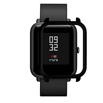 SUKEQ Watch Protect Case, Slim Colorful Full Protective Bumper Case Cover For Xiaomi Huami Amazfit