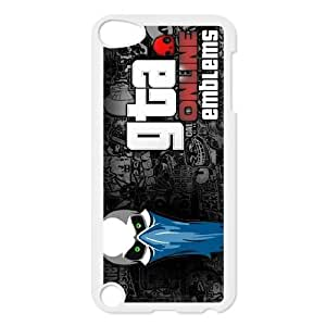 Ipod Touch 5 Phone Case for Classic anime GTA 4 GAMES Theme pattern design GCAGT923787