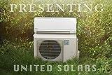 United Solars 1.5 Ton 3 Star Split AC ( US222, White, Copper Winding)