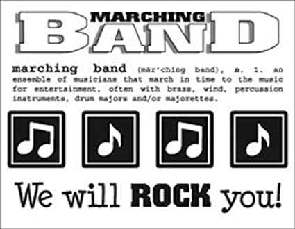 Srm stickers 40029 say it with stickers mini marching band scrapbooking