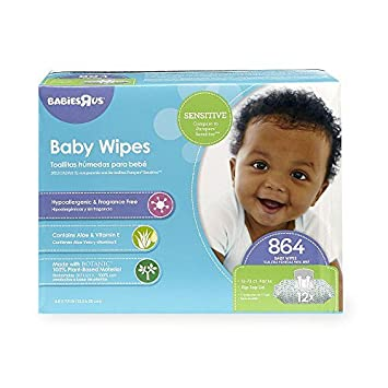 Babies R Us Sensitive Baby Wipes - 864 Count by Babies R Us