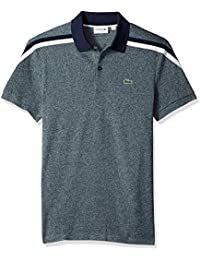 Men's Short Sleeve Slim Fit Made in France Pique Polo