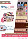 wooden aroma diffuser - CRAFTIVITY AromaJewelry Chic Cuffs- Essential Oil Jewelry Making Kit