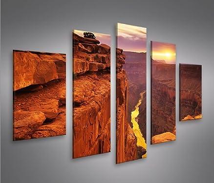 Grand Canyon MF 5 Quadri moderni su tela - pronti da appendere ...