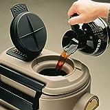 Cambro CSR5 110 Black 5 Gallon Insulated Beverage CamServer