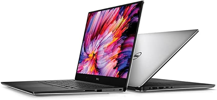 Dell XPS 15 9560 15.6in FHD InfinityEdge Display Intel Core i7-7700HQ X4 2.8GHz 8GB 256GB SSD NVIDIA GeForce GTX 1050 Silver (Renewed)