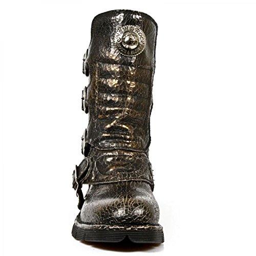 New Rock Boots M.1471-s22 Gotico Hardrock Punk Unisex Stiefel Kupfer