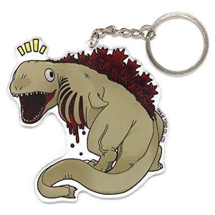 Amazon.com: COSPA Shin Godzilla Second Form Acrylic Keychain ...
