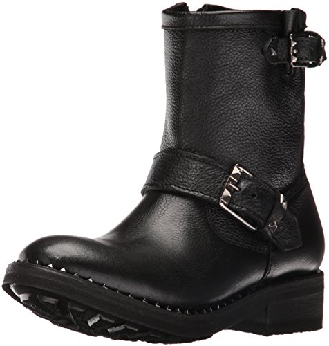 Ash Women's Soho Motorcycle Boot, Black, 36 EU/6 M US (Black Report Motorcycle Boots)