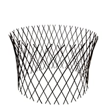 Master Garden Products Circular Willow Lattice Fence, 30 by 60-Inch