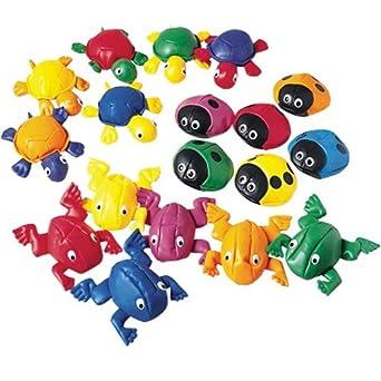 Awe Inspiring Beanbag Bonanza Set Of 18 With 6 Frogs 6 Ladybugs And 6 Turtles Frankydiablos Diy Chair Ideas Frankydiabloscom