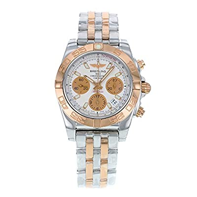 Breitling Men's CB014012-G713TT Chronomat 41 Analog Display Swiss Automatic Two Tone Watch