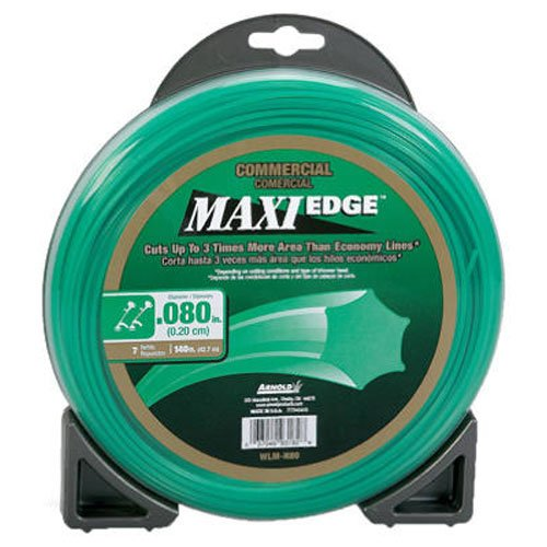 Grade Trimmer Line (Arnold Maxi-Edge .08-Inch x 140-Foot Commercial Grade Trimmer Line)