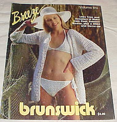 - Breeze By Brunswick 1980 Lacy Tops and Sweaters to Make From Cool Summer Breeze Plus a Bikini and Cover-up Volume 816
