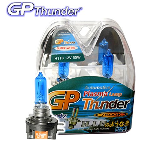 authentic-gp-thunder-7500k-h11b-xenon-white-light-bulbs-headlamp-high-low-beam-for-kia-borrego-optim