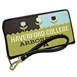 Wallet Clutch US Gardens Haverford College Arboretum - PA with Removable Wristlet Strap Neonblond