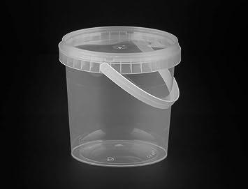 (paquete de 35) 1000 ml fuerte 1 litro de almacenamiento de ensalada contenedores cubo