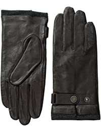 Men's Leather Glove with Heathered Lining