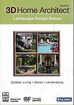 3D Home Architect Landscape Design Deluxe Version 9